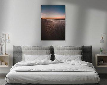 Oranjezon strand 3 van Andy Troy