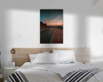 Almeria zonsondergang