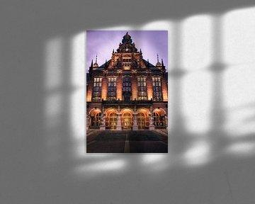 Academiegebouw Rijksuniversiteit Groningen van Harmen van der Vaart