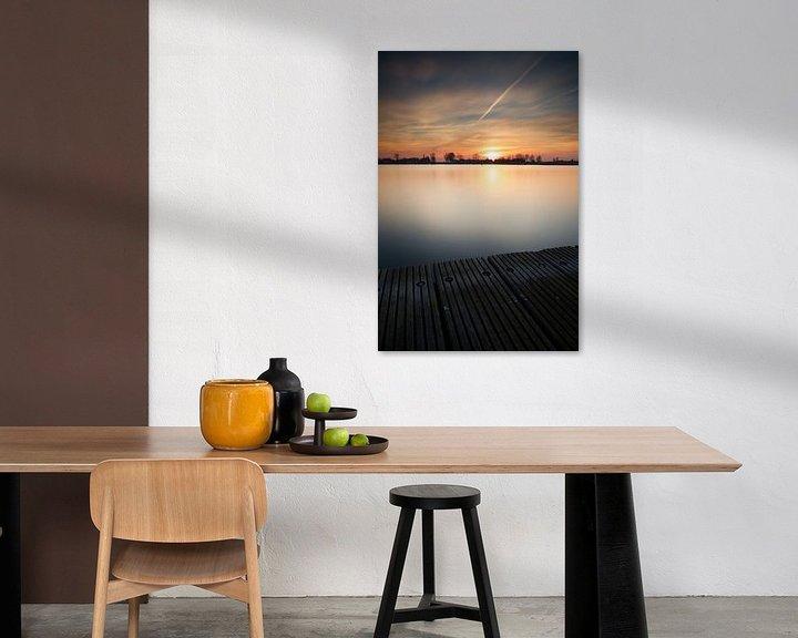 Sfeerimpressie: Zonsondergang steiger #03 van Gerhard Niezen Photography