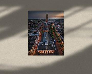 Huis de Beurs, Vismarkt, Korenbeurs, A-kerk, Groningen van Harmen van der Vaart