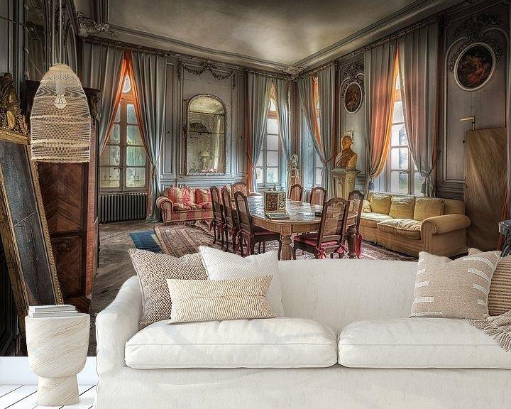 Beispiel fototapete: Esszimmer im Schloss von Kelly van den Brande