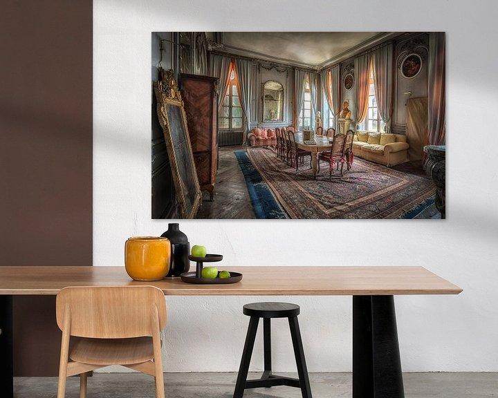 Beispiel: Esszimmer im Schloss von Kelly van den Brande