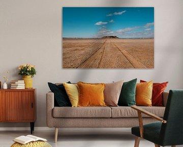 Zoutvlakte Marokko 2 van Andy Troy