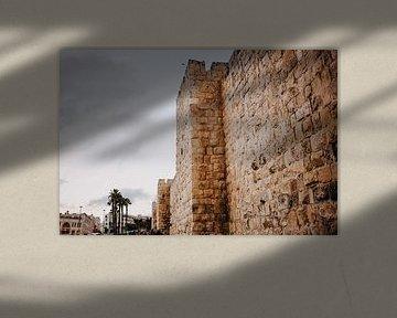 Stadsmuur Jeruzalem von Lauri Miriam van Bodegraven