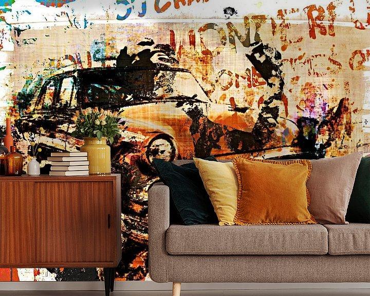 Beispiel fototapete: Zombie parking only von PictureWork - Digital artist