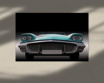 Grille US Amerikaanse Oldtimer Thunderbird 1959 van Beate Gube