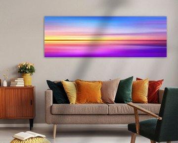Abstract Sunset VII - Panoramic van Art Design Works