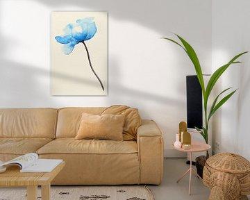 De blauwe bloem van Natalie Bruns