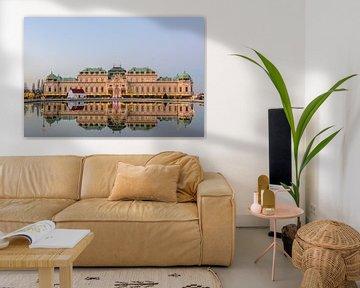 Schloss Belvedere Wien von Lisa Stelzel