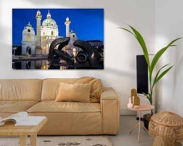 Karlskirche Wien von Lisa Stelzel