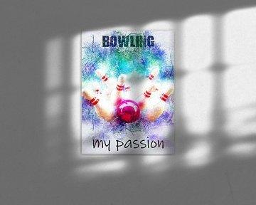 bowling van Printed Artings