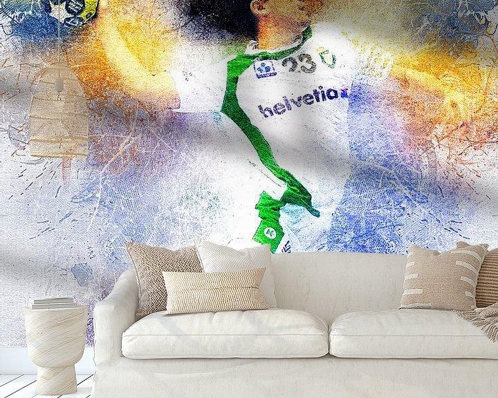 Impression: handball sur Printed Artings