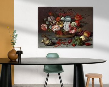 Korb mit Blumen, Balthasar van der Ast