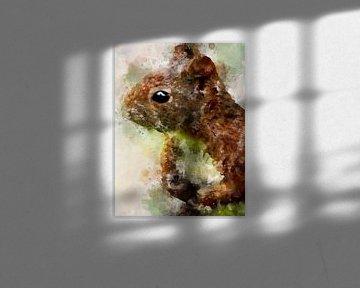 Eichhörnchen von Printed Artings