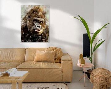 gorilla van Printed Artings