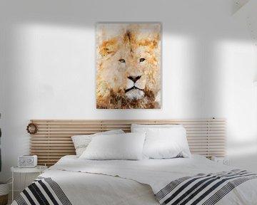 Löwe von Printed Artings