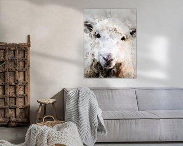 Schaf von Printed Artings