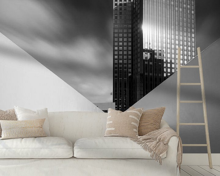 Beispiel fototapete: Sky-Lines von Raoul Baart