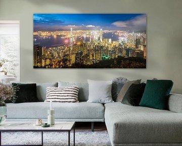 Hong Kong Skyline von Claudio Duarte