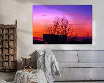 Concept landscape : city sunset sur Michael Nägele