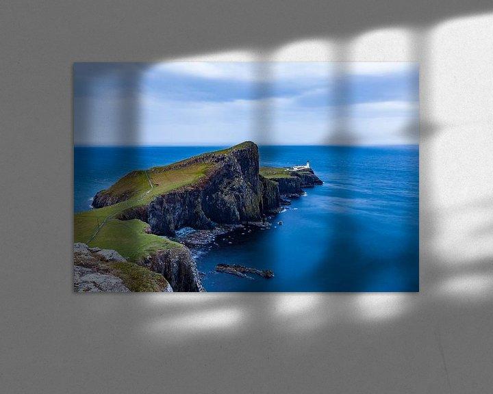 Sfeerimpressie: Neist Point op het eiland Skye in Schotland van Werner Dieterich