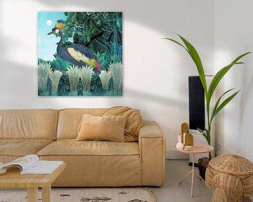 Bird in Paradise van Marja van den Hurk