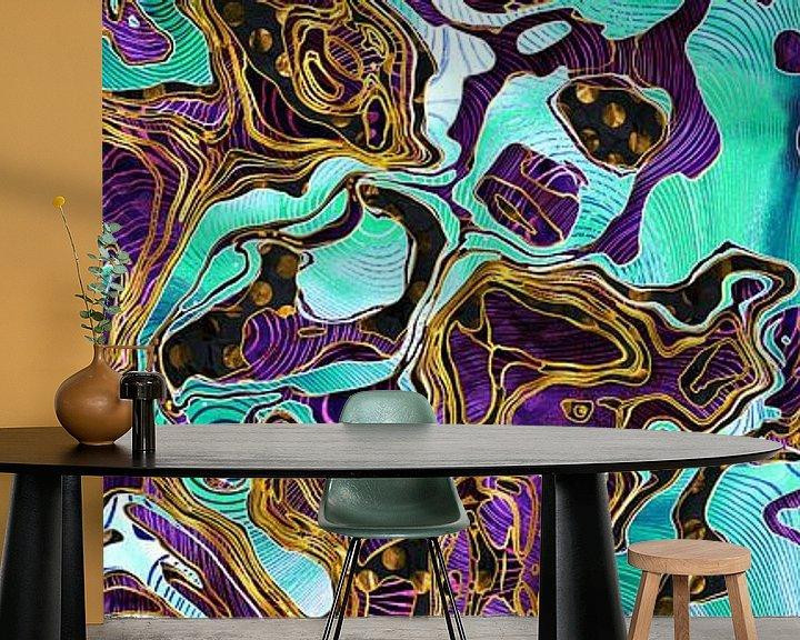 Beispiel fototapete: Muster LXXVIII - I - Panorama von Art Design Works