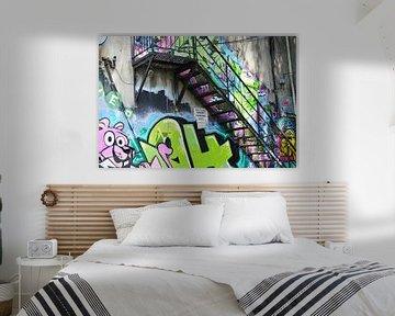 graffiti van annet vegter