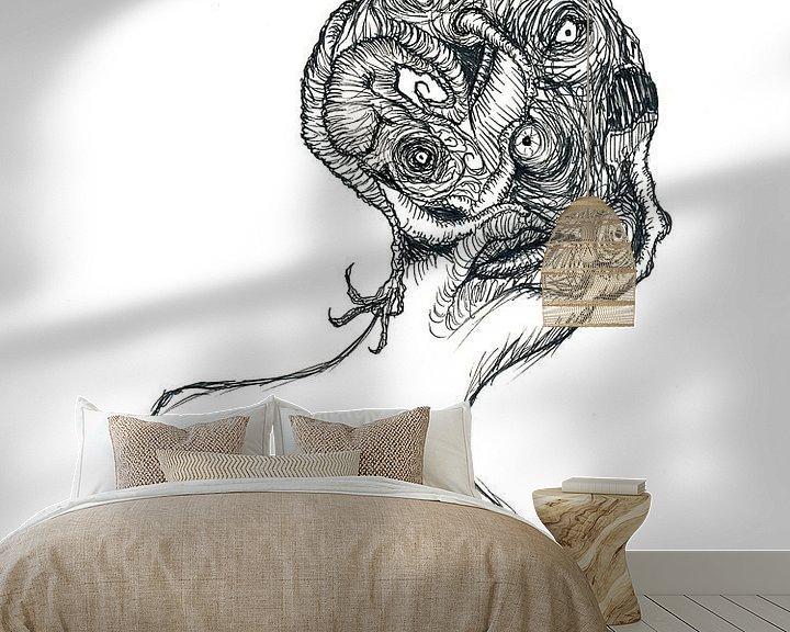 Beispiel fototapete: Cabbage head von Dessin Destin