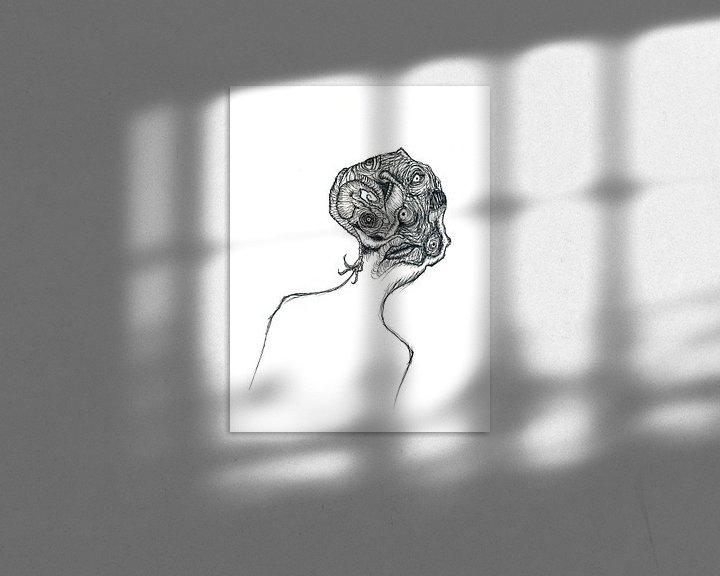 Beispiel: Cabbage head von Dessin Destin