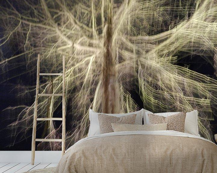 Beispiel fototapete: Tree of light von Charlotte Koopman