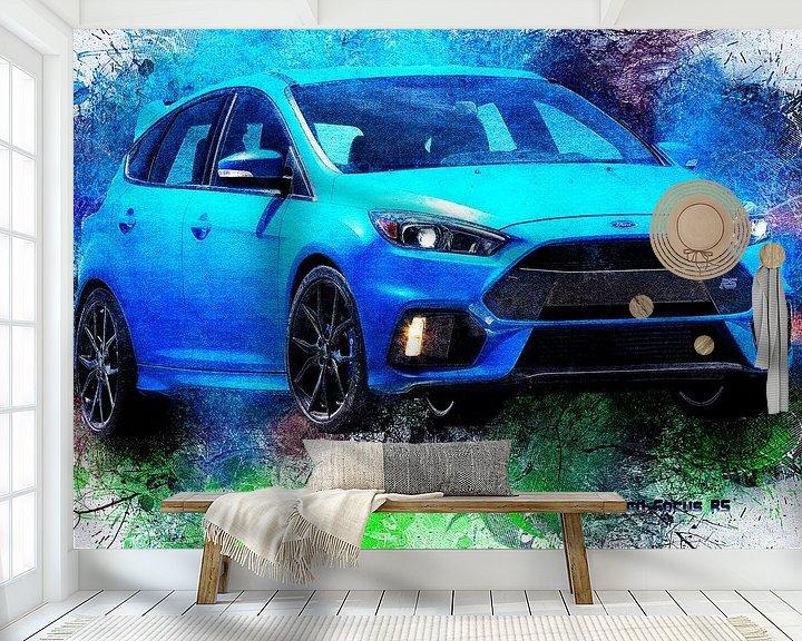 Beispiel fototapete: Ford von Printed Artings