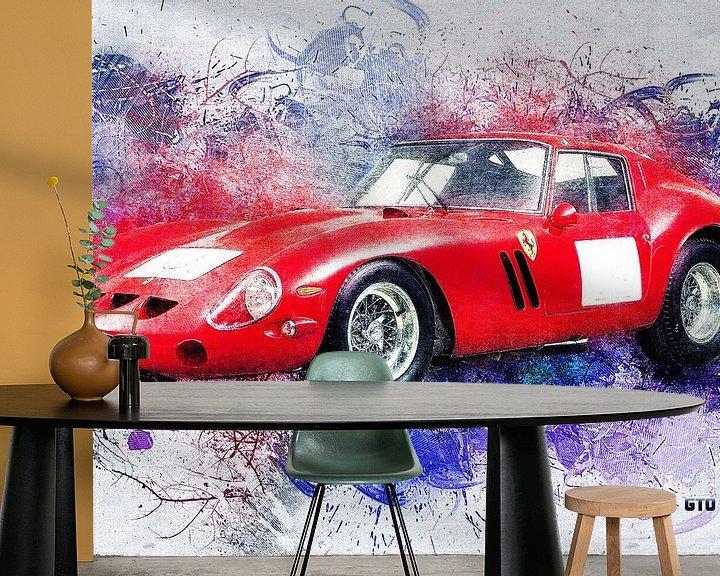 Beispiel fototapete: Ferrari von Printed Artings