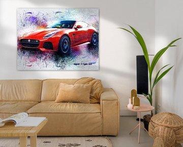Jaguar sur Printed Artings