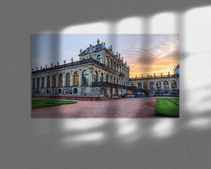 Sfeerimpressie: Zwinger Dresden Porseleinpaveljoen van Stephan van Krimpen