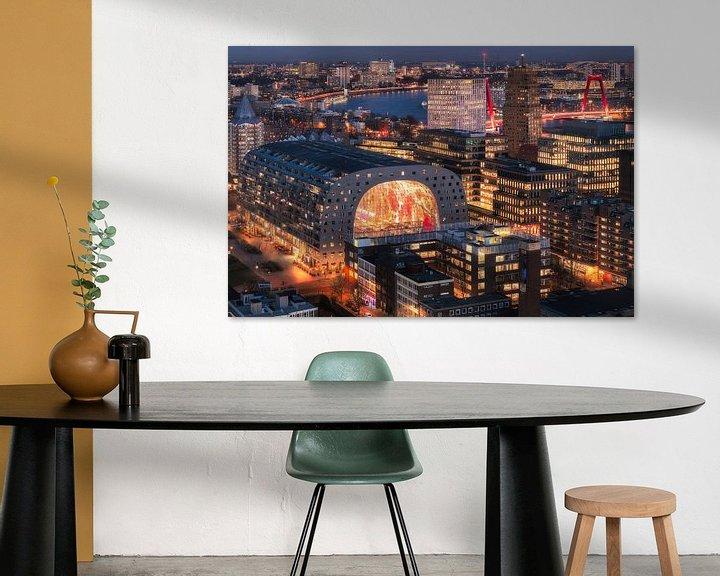 Sfeerimpressie: Vivid Rotterdam City van Vincent Fennis