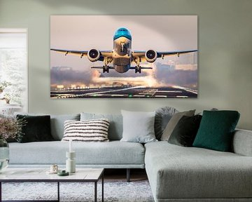 KLM 777 take-off vanaf Schiphol van Dennis Janssen