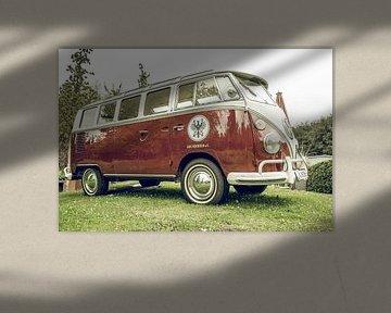 Volkswagen Transport (T2) des années 1950, van classique ou toit ouvrant de luxe sur Sjoerd van der Wal