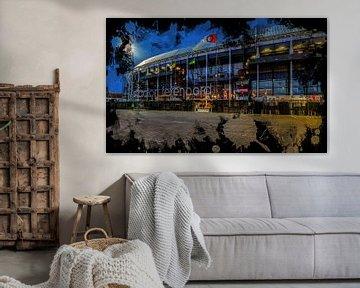 "Stade Feyenoord ART Rotterdam ""De Kuip"" Avant"