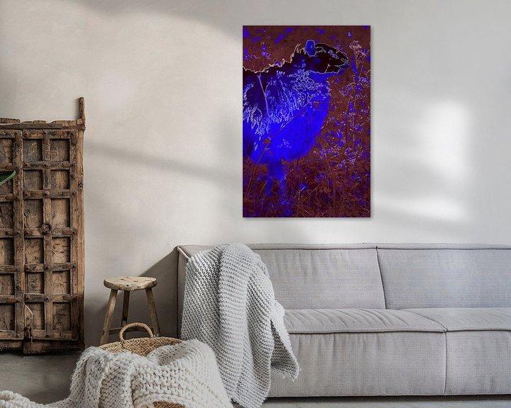 Beispiel: Sheep in Purple & Blue von De Rover