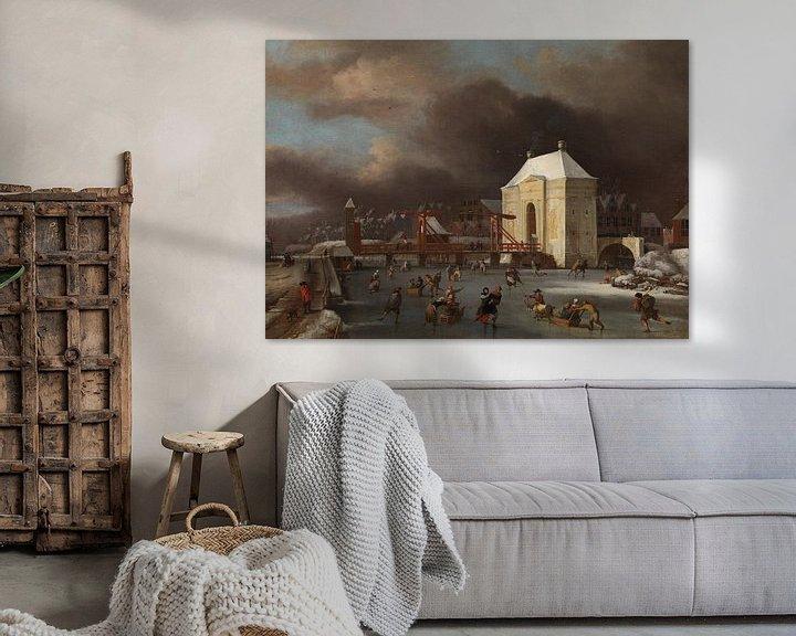 "Beispiel: Durch das ""Heiligewegspoort""  in Amsterdam, Johan van Kessel"