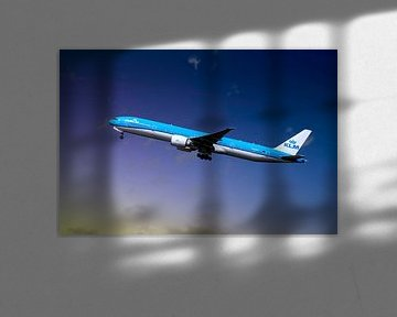KLM PH-BVO, KL2020,  Boeing 777-306(ER), Tijucana National Park van Gert Hilbink