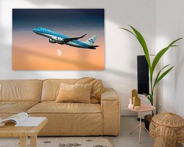 KL2020, KLM PH-EXR KLM Cityhopper Embraer ERJ-175STD van Gert Hilbink