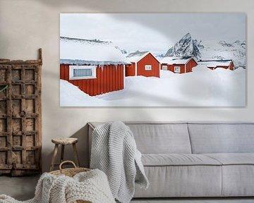 Die Fischerhäuser von Hamnøy, Lofoten von Nando Harmsen