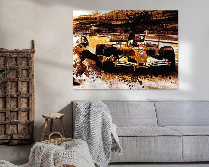 Beispiel: Formula One race von PictureWork - Digital artist