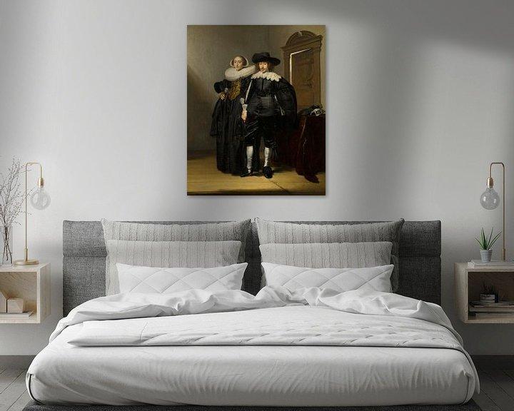 Beispiel: Porträt eines Ehepaares, Pieter Codde