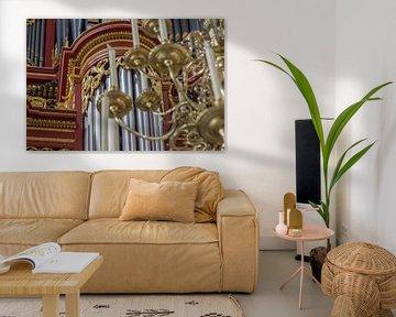 Detail-orgel - Laurenskerk, Rotterdam van Rossum-Fotografie