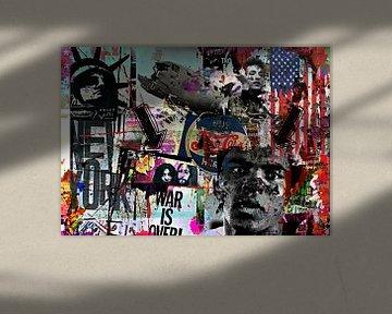America Streetart collage