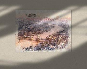 London von Printed Artings